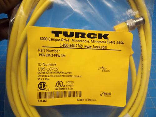 Turck Cable PKG 3M-2-PSW 3M - P02-000133