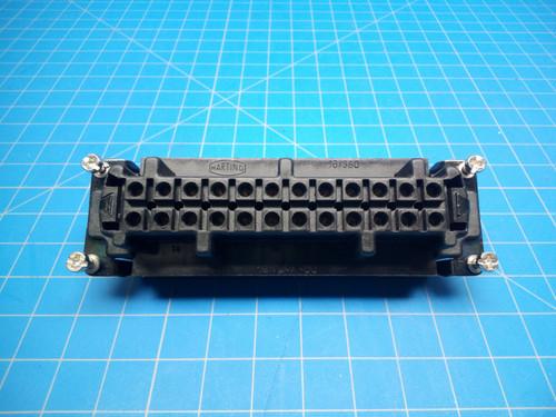 MBO 24 Pin Female Insert - P02-000141