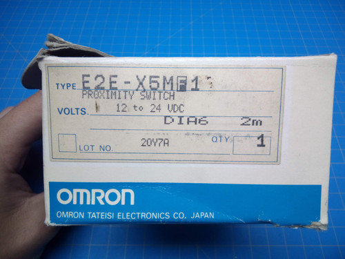 Omron E2E-X5MF1 Proximity Sensor - P02-000148