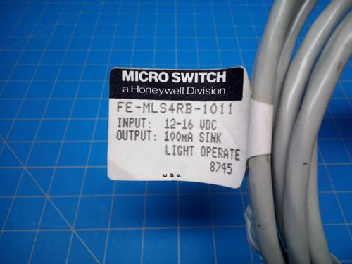 Micro Switch FE-MLS4RB-1011 Proximity Sensor - P02-000156