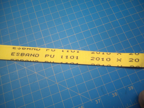 MBO FEEDER DRIVE BELT 0105791 2010 x 20 mm - P02-000207
