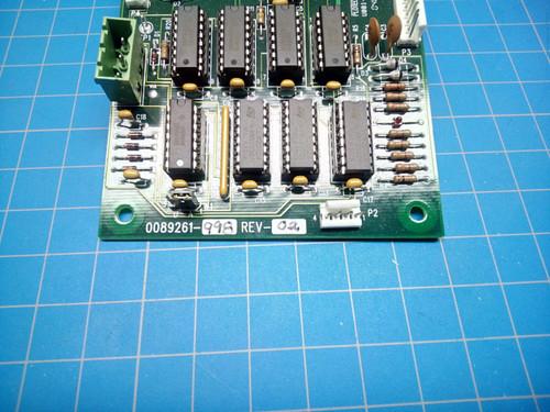 PloTech Circuit Board 0089261-998 Rev 2 - P01-000150