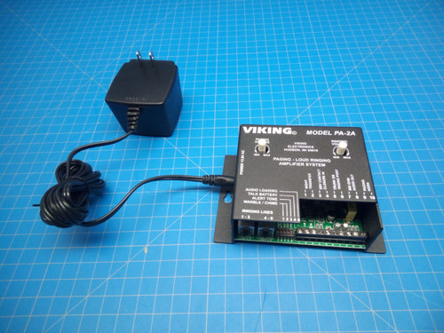 Viking Paging Amplifier PA-2A - P02-000285