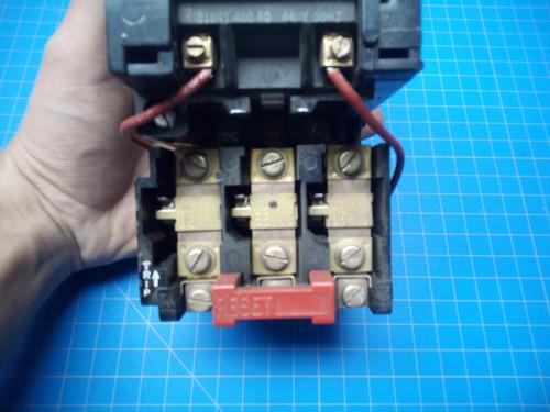 Square D 8536-SCG3 Motor Starter NEMA Size 1 440 Volt Coil - P02-000334