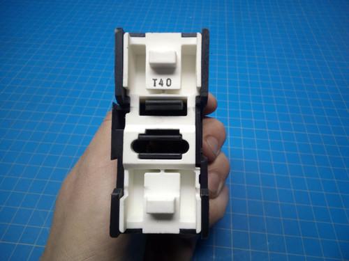 BUSS JTN60060 Fuse Holder DIN Mount - P02-000336