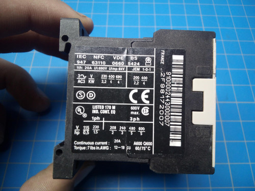 Telemecanique LP1K 0910 BD3 - P02-000339