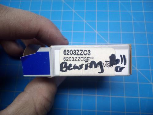 NSK Bearing 6203ZZC3 - P02-000385