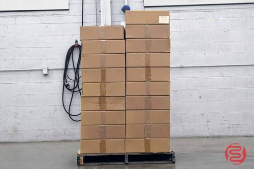 """1 1/2"""" Super Translucent Tabs / Wafer Seals, 30,000 per Roll, 90,000 Per Case"""