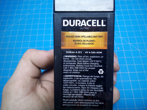 Duracell Ultra Dur.A4-4.5F2 - P02-000394