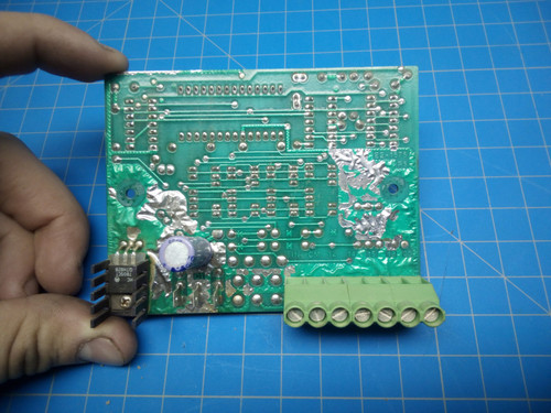 Challenge Digital Readout Display CIrcuit Board - P02-000396