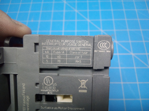 ABB OT40FT3 Disconnect Switch - P02-000402