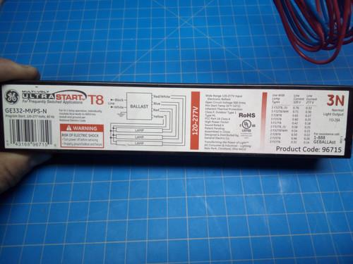 MultiVolt Ultra Start Ballast GE332-MVPS-N - P02-000410