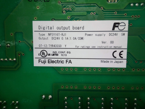 Digital Output Circuit Board NP3Y16T-RJ1 - P02-000422