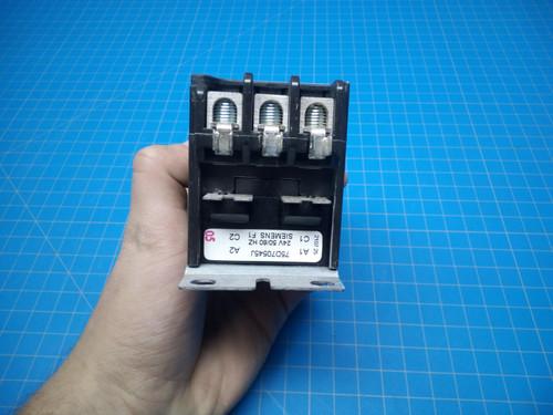 Siemens 3 Pole 40 Amp Definte Purpose Contactor 24 VAC
