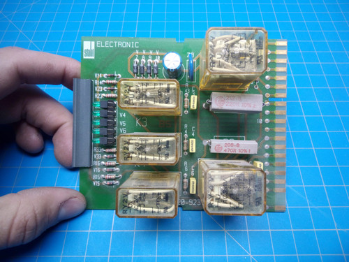Stahl Relay Circuit Board 220-923 BG01 - P02-000446