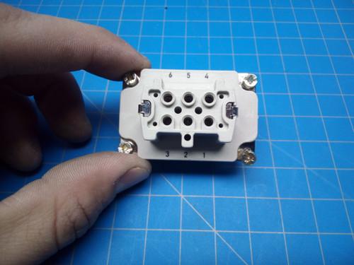 LAPP Plug Insert EPIC H-BE 6 BS 10191000 - P02-000452