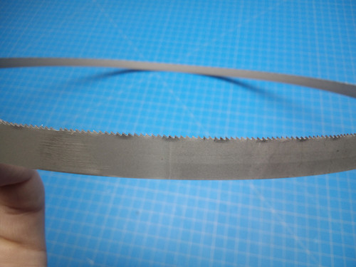 """Starrett Bandsaw Blade BM18- 3' 8 7/8"""" x 1/2 x .020 x 18T -P02-000458"""