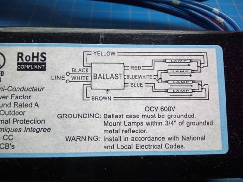 Intelli Volt Ballast - IOP-4S32-SC - P02-000460