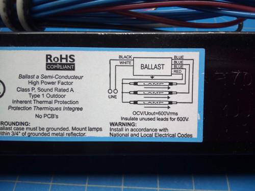 Intelli Volt Ballast ICN-3P32-N - P02-000461