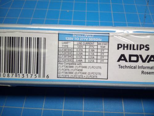 Intelli Volt Ballast ICN-2S39-T - P02-000462