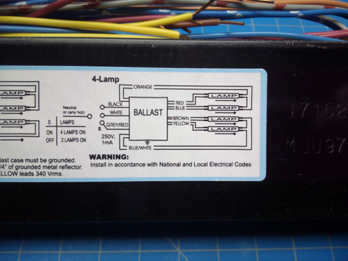 Advance Programmed Start Electronic Ballast ICN-4S54-90C-2LS-G - P02-000464
