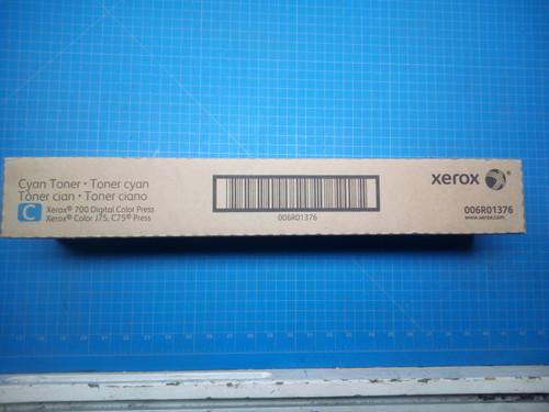Xerox Cyan Toner 700 Digital Color Press C75, J75 Color Press 006R01376 P02-000877
