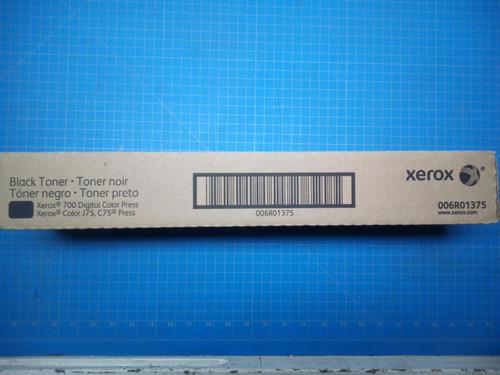 Xerox Black Toner 700 Digital Color Press C75, J75 Color Press  006R01375 P02-000878