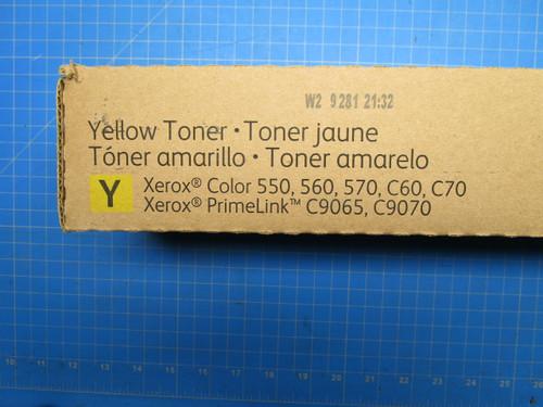 Xerox Color 550 560 Toner Cartridge Yellow Color 550 560 570 Docucolor C60 C70 006R01522 P02-000928