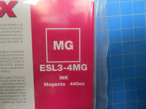 Roland Magenta Eco-Sol MAX Digital Ink- 440ml Cartridges ESL3-4MG P02-000953