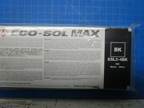 Roland Black Eco-Sol MAX Digital Ink- 440ml Cartridges ESL3-4BK P02-000956