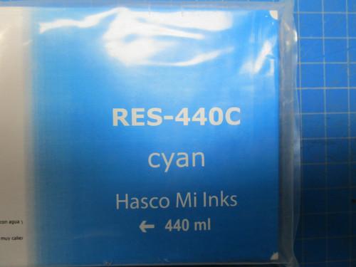 Cyan Hasco Mi Ink Eco-Sol Ink 440 P02-000958