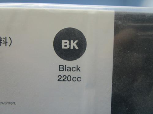 Black Roland Eco-Sol 220cc Ink P02-000962