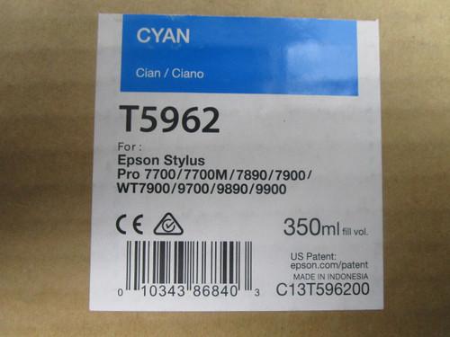 Cyan EPSON 7700/7890/7900/9700/9890/9900 UltraChrome HDR Ink- 350 mL P02-000965
