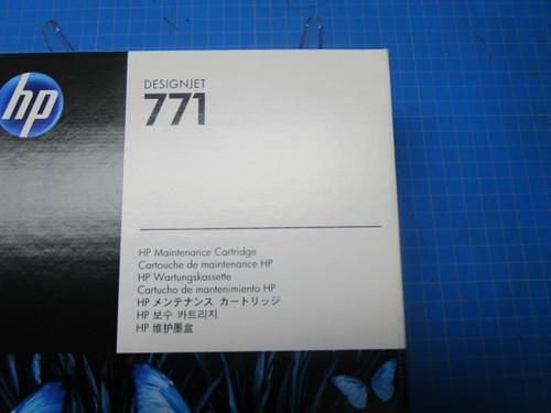HP 771 DesignJet Maintenance Cartridge, CH644A P02-000985
