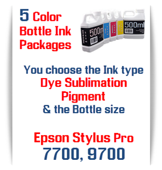 Refillable Ink Cartridges - Refillable Stylus Pro 7700/9700