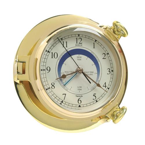 Bridge Tide Clock Brass