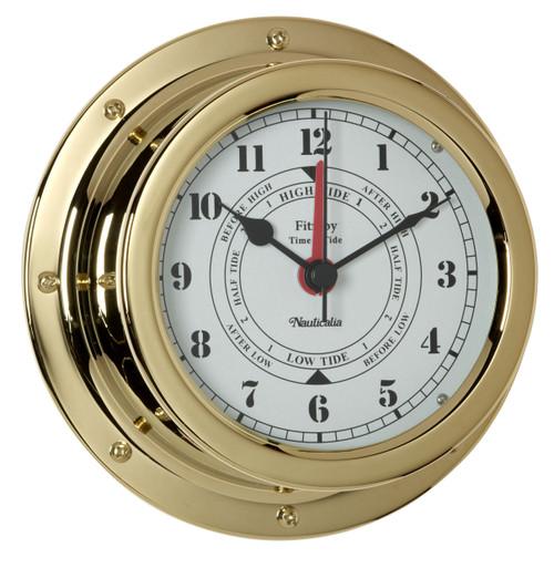 Fitzroy Tide Clock Brass