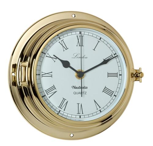 London Clock Brass