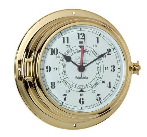 London Tide Clock Brass