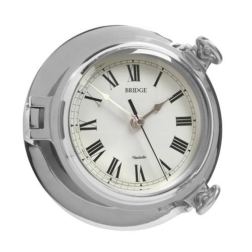 Bridge Clock Chrome