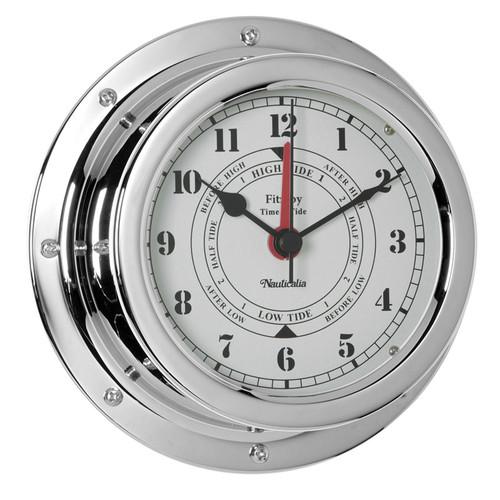 Fitzroy Tide Clock Chrome