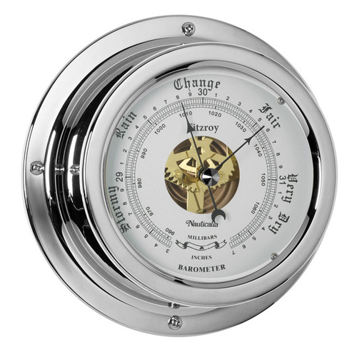 Fitzroy Barometer Chrome