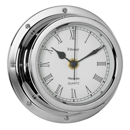 Fitzroy Clock Chrome