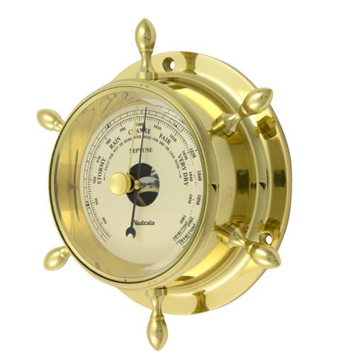 Neptune Barometer Brass