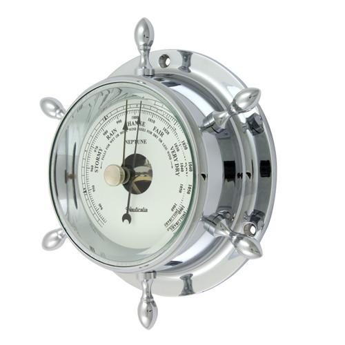 Neptune Barometer Chrome
