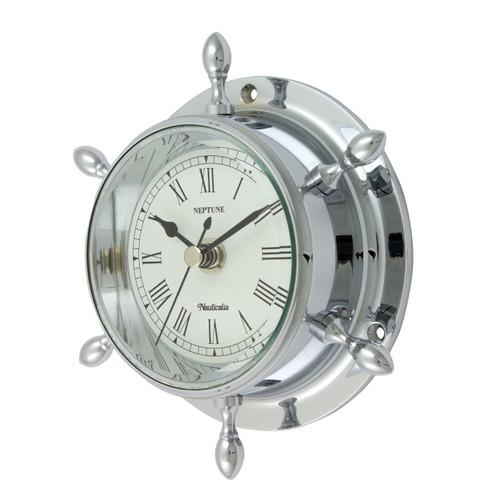 Neptune Clock Chrome