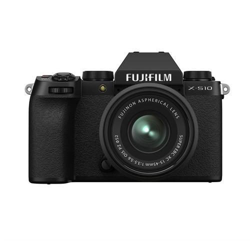 Fuji X-S10 XC 15-45MM Black