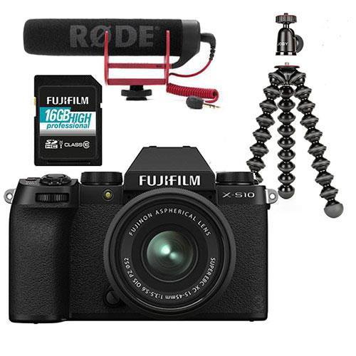 Fuji X-S10 XC 15-45MM Vlogger Kit