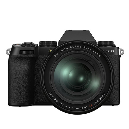 Fuji X-S10 XF 16-80MM Black