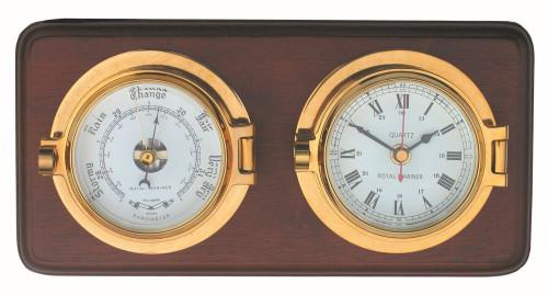 Channel Clock & Barometer Set